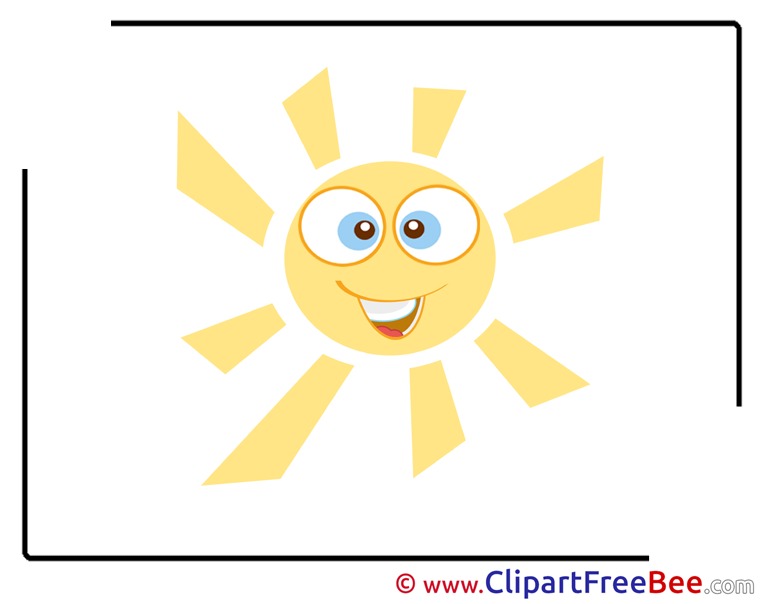 Warm Weather Sun download Illustrations