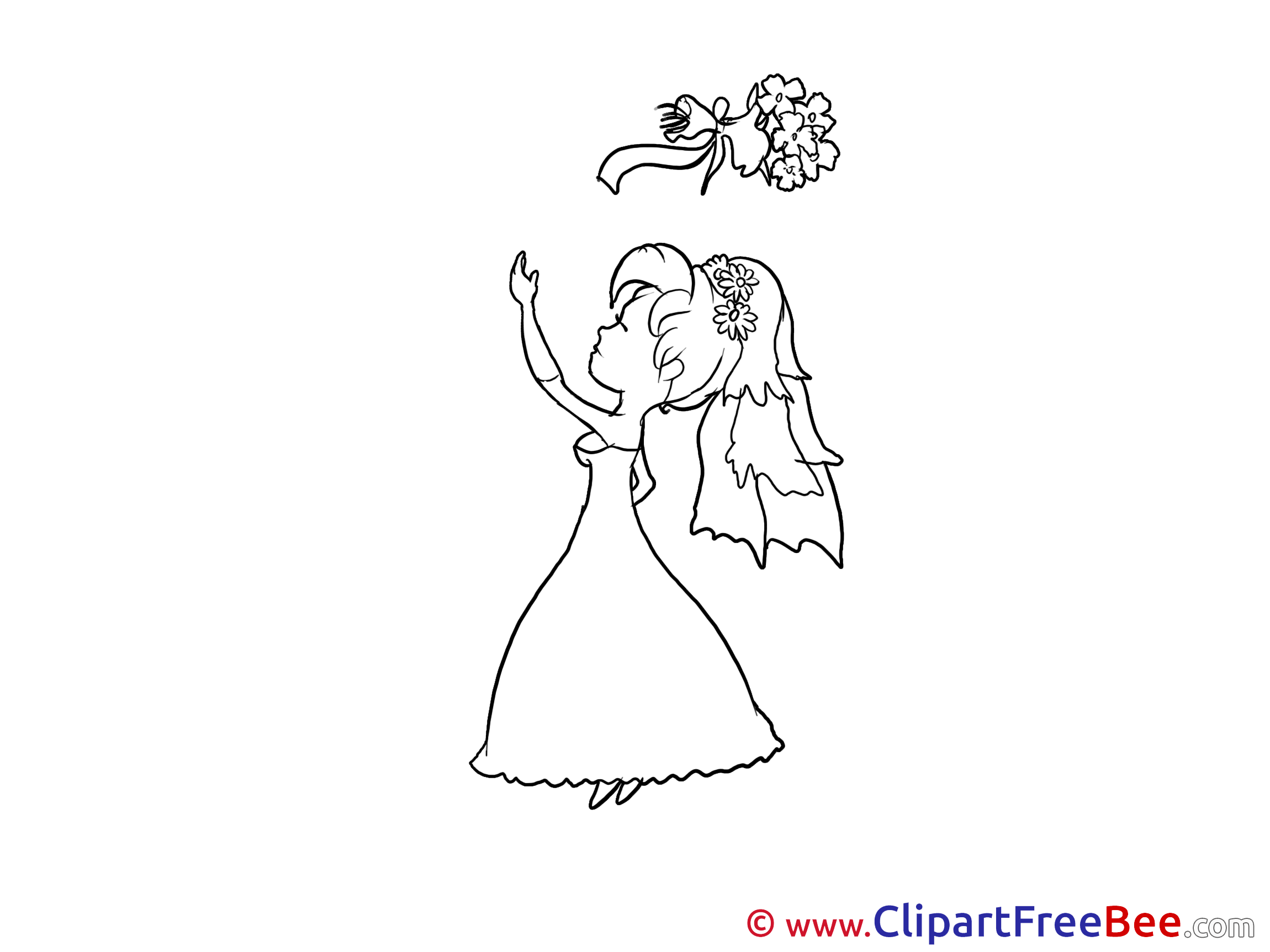 Bouquet Wedding download Illustration