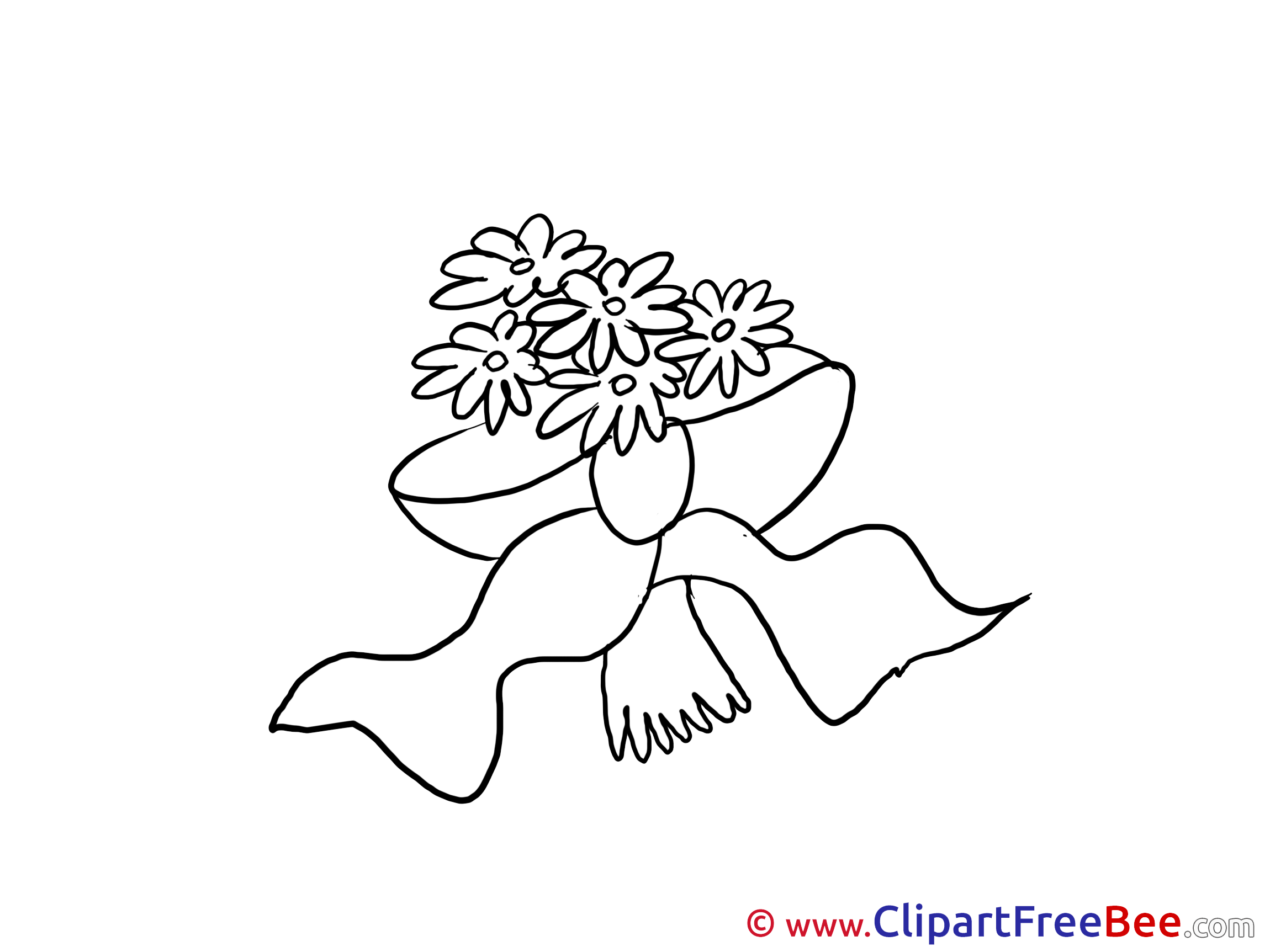 Flowers Wedding Clip Art for free