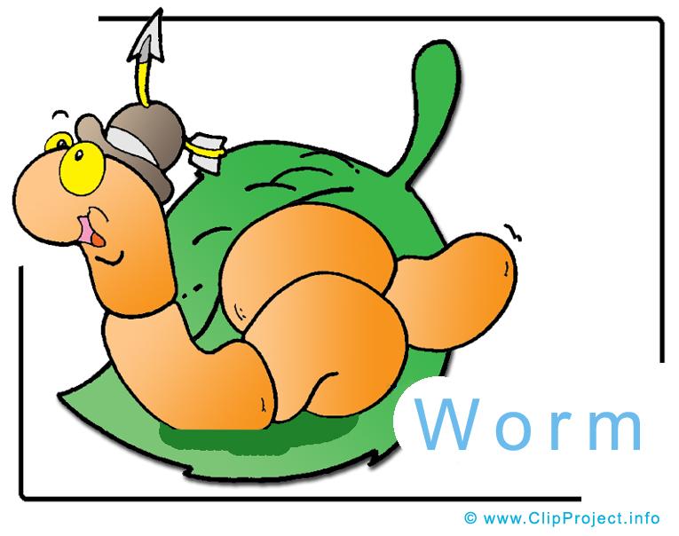 cartoon worms clip art - photo #31