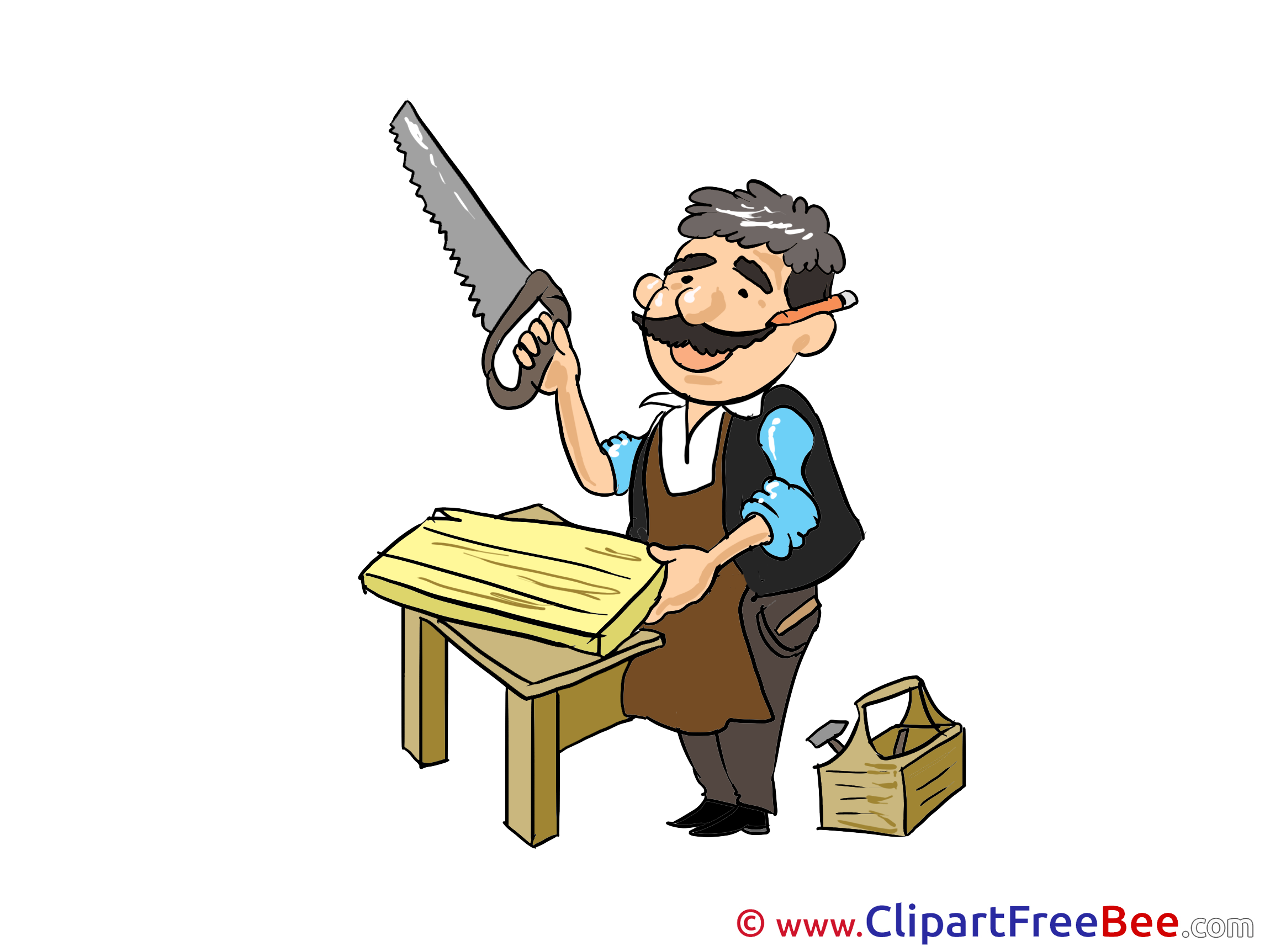 Carpentry clipart woodworker, Carpentry woodworker Transparent FREE for  download on WebStockReview 2020