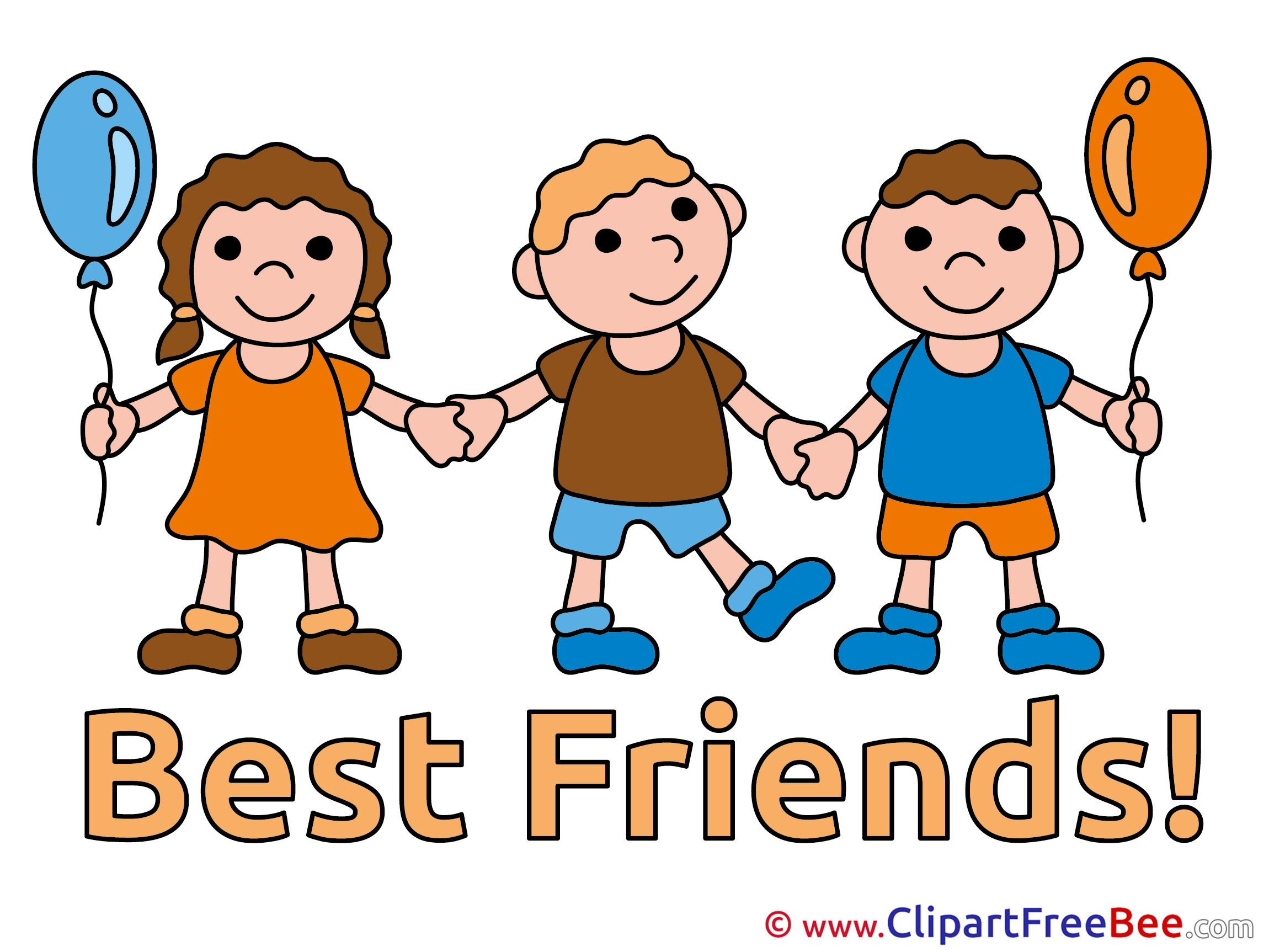 Best Friends Stock Vectors Clipart   123RF Stock Photos