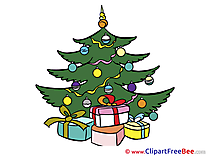 Christmas Tree Clip Art Image for free