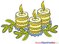 New Year Clipart Advent Illustrations