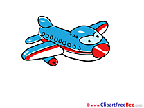 Plane Airplanes Illustrations for free