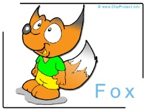 Fox Clip Art Image free - Animals Clip Art Images free