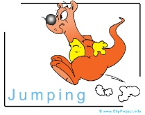 Jumping Clip Art Image free