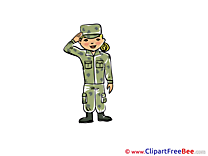 Clip Art download Army