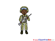 Pics Army Illustration