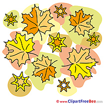 Beautiful Leaves download Clipart Autumn Cliparts