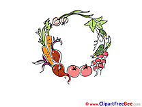Carrots Cucumbers free Cliparts Autumn
