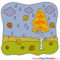 Clouds Rain free Illustration Autumn