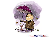 Downpour Clipart Autumn free Images