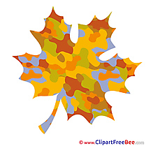 Leaf Cliparts Autumn for free