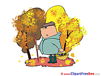Mushroom Picker Pics Autumn free Image