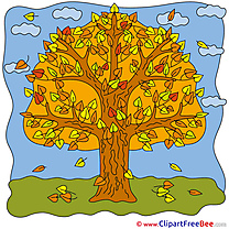 Printable Autumn Tree Images