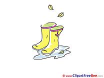Puddle Boots Pics Autumn free Image