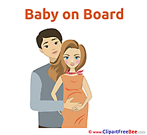 Baby on Board Illustrations for free