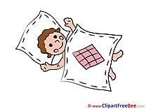 Bed Clip Art download Baby sleeping
