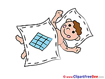 Bed Pics Baby lying free Image