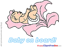 Cabbage free Cliparts Baby on board