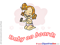 Dirty Baby on board download Illustration