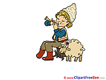 Sheep free Cliparts Birthday