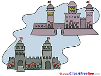Fort Towers Clipart free Image download