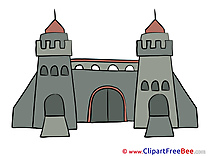 Gate Towers download printable Illustrations