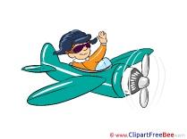 Pilot Clip Art download for free