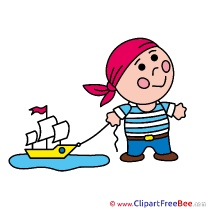Pirate Ship free printable Cliparts and Images