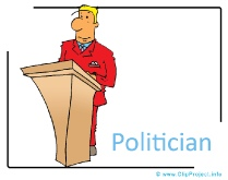 Politician Clipart Image free - Career Clipart Images