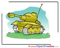 Tank Army Clip Art download for free