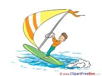 Windsurfer free Illustration download