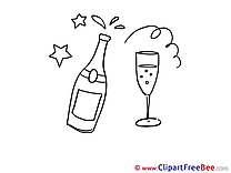 Champagne Clipart Carnival free Images