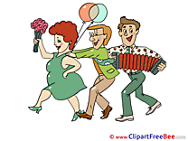 Evening download Clipart Carnival Cliparts