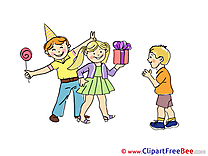 Presents Friends Cliparts Carnival for free