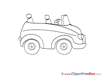 Convertible Car Clip Art download for free