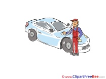 Diagnostics Man download Clip Art for free