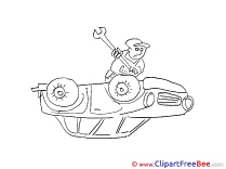 Mechanic Clip Art download for free