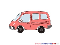 Minivan Clipart free Illustrations