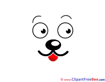 Animal Muzzle Clipart free Image download