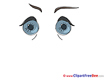 Big Eyes printable Illustrations for free
