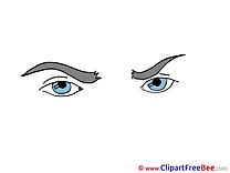 Blue Eyes Pics download Illustration