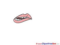 Contemptuous Look Clipart free Illustrations
