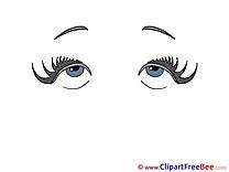 Girl Eyes free Illustration download