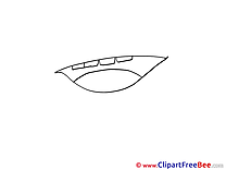 Open Mouth Clip Art download for free