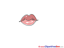 Pink Lips Pics download Illustration
