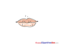 Red Lips Pics printable Cliparts