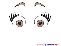 Surprised Clipart free Illustrations